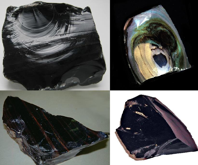 Obsidian Gemstone And Birthstone Natural Obsidian Rock Information Obsidian Healing Powers